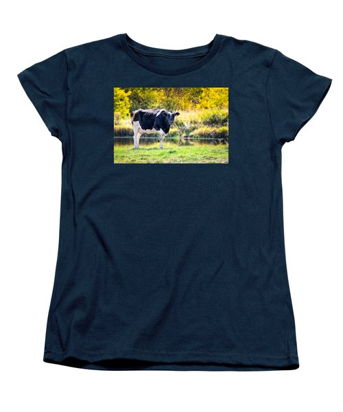 Vermont Farms.01 Women's T-Shirt (Standard Cut) by Craig Szymanski