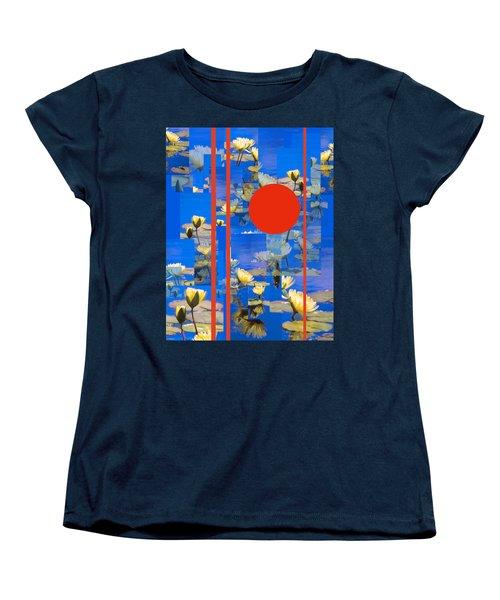 Women's T-Shirt (Standard Cut) featuring the photograph Vertical Horizon by Steve Karol