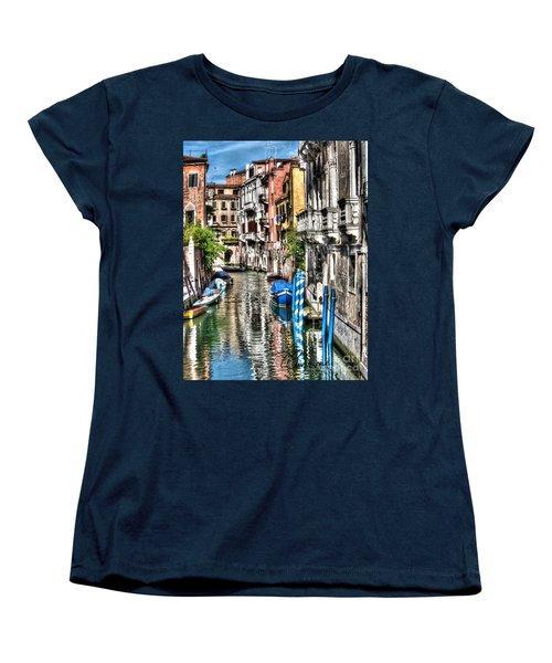 Viale Di Venezia Women's T-Shirt (Standard Cut) by Tom Cameron