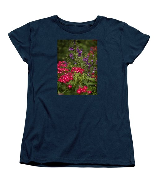 Vibrant Blooms Women's T-Shirt (Standard Cut)