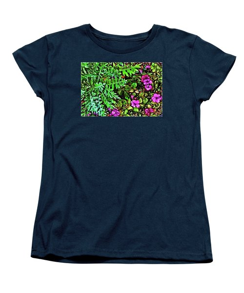 Vibrant Garden Women's T-Shirt (Standard Cut) by Terry Cork