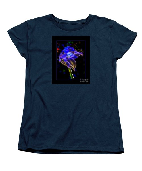 Women's T-Shirt (Standard Cut) featuring the photograph Vibrant Orchid by Darleen Stry