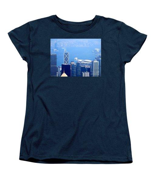 Women's T-Shirt (Standard Cut) featuring the photograph Victoria Peak 2 by Randall Weidner