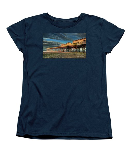 Women's T-Shirt (Standard Cut) featuring the photograph Victoria Pier 1899 by Adrian Evans