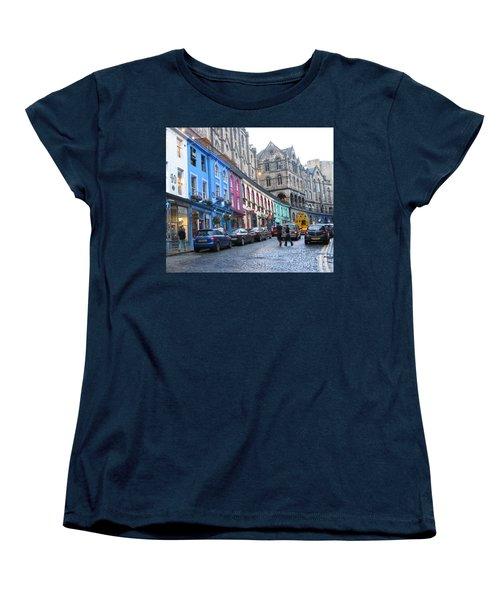 Victoria St Women's T-Shirt (Standard Cut) by Mini Arora