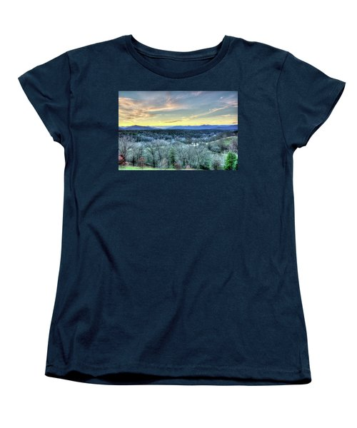 Women's T-Shirt (Standard Cut) featuring the photograph View From Biltmore by Wade Brooks