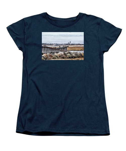 View From Mill Creek - Cold Women's T-Shirt (Standard Cut) by Constantine Gregory