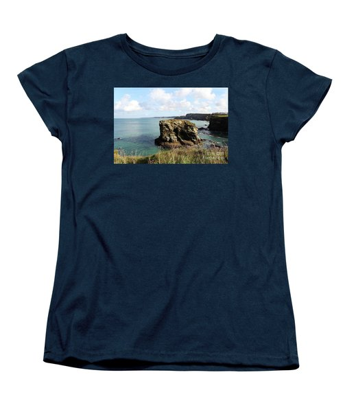 Women's T-Shirt (Standard Cut) featuring the photograph View From Porth Peninsula by Nicholas Burningham