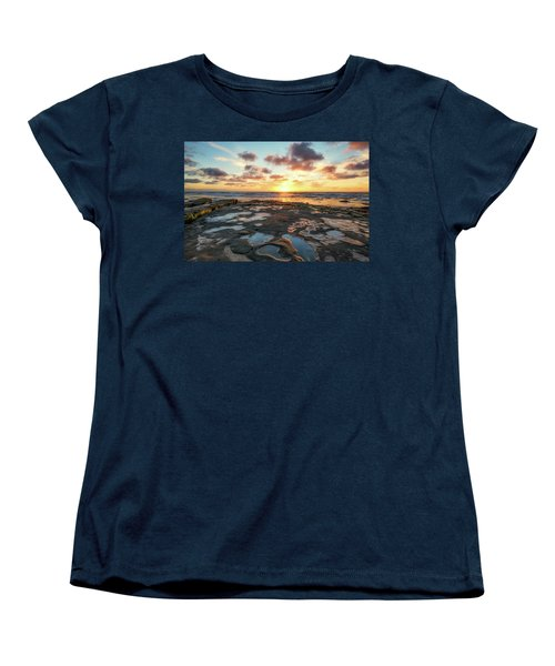 View From The Reef Women's T-Shirt (Standard Cut) by Joseph S Giacalone