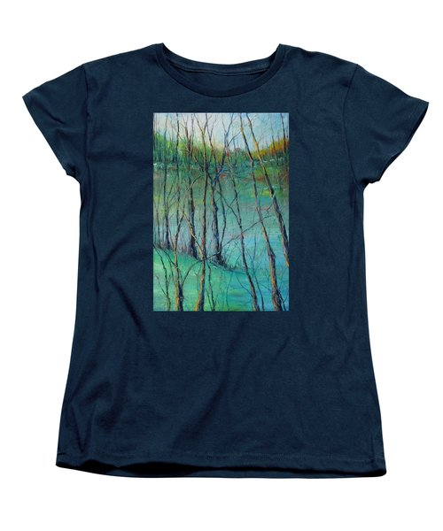 View Of Nature's Canvas Women's T-Shirt (Standard Cut) by Robin Miller-Bookhout