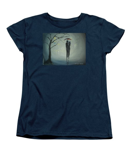 View Of The City Women's T-Shirt (Standard Cut) by Raymond Doward