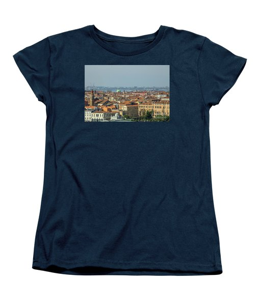 View On Venice Women's T-Shirt (Standard Cut) by Patricia Hofmeester