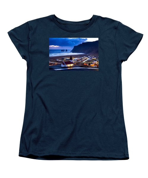 Vik Iceland Women's T-Shirt (Standard Cut) by Mariusz Czajkowski