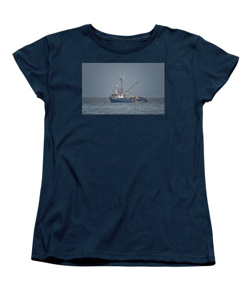 Women's T-Shirt (Standard Cut) featuring the photograph Viking Fisher 4 by Randy Hall