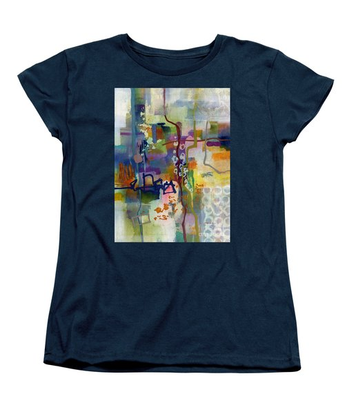 Women's T-Shirt (Standard Cut) featuring the painting Vintage Atelier 2 by Hailey E Herrera