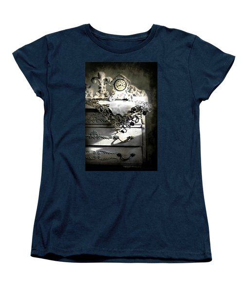 Women's T-Shirt (Standard Cut) featuring the photograph Vintage Time by Diana Angstadt