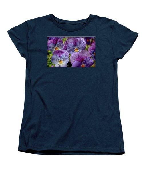 Women's T-Shirt (Standard Cut) featuring the photograph Viola by Bonnie Willis