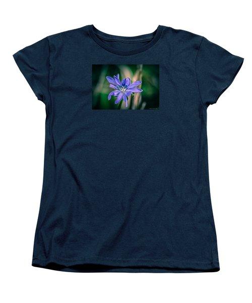 Women's T-Shirt (Standard Cut) featuring the photograph Violet by Michaela Preston