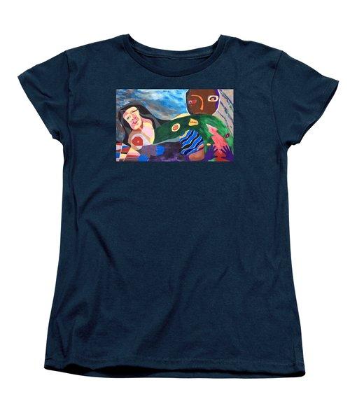 Violet Night Women's T-Shirt (Standard Cut)
