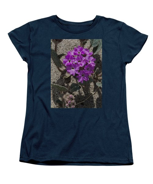 Violets In The Sand Women's T-Shirt (Standard Cut) by Jeremy McKay