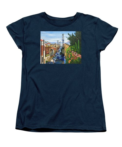 Visions Of Paradise Vii Women's T-Shirt (Standard Cut) by Michael Frank