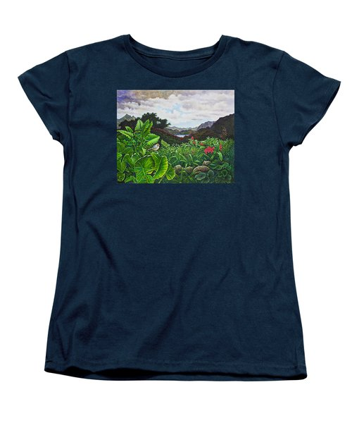 Visions Of Paradise Viii Women's T-Shirt (Standard Cut) by Michael Frank
