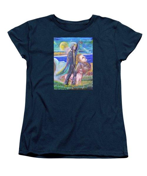 Visiting Star Beings Women's T-Shirt (Standard Cut)