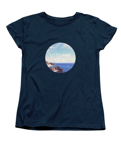 Vitamin Sea Women's T-Shirt (Standard Cut) by Alexandre Ibanez