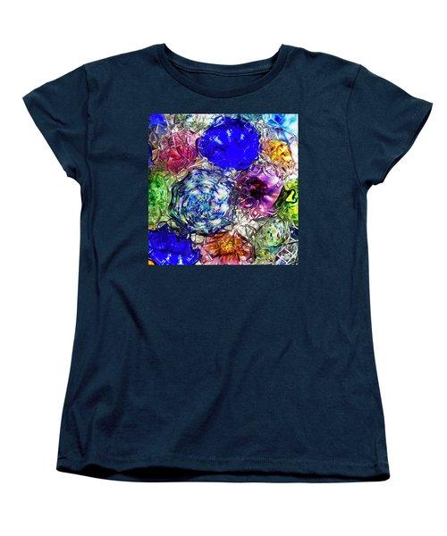 Vitreous Flora Women's T-Shirt (Standard Cut) by Gary Holmes