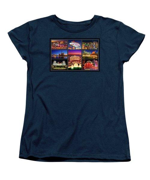Viva Las Vegas Collection Women's T-Shirt (Standard Cut) by Aloha Art