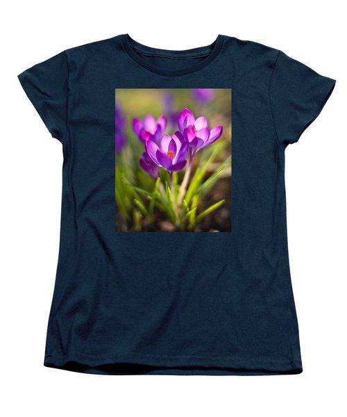 Vivid Petals Women's T-Shirt (Standard Cut) by Mike Reid