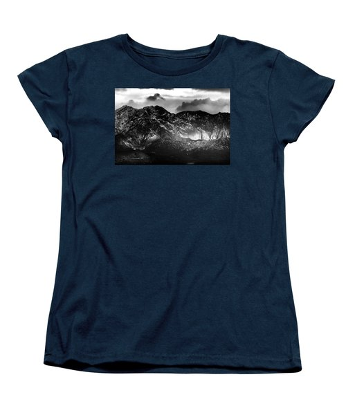 Women's T-Shirt (Standard Cut) featuring the photograph Volcano by Hayato Matsumoto