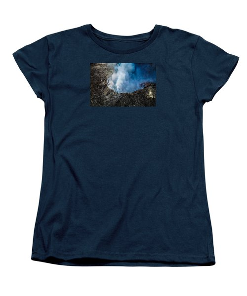 Women's T-Shirt (Standard Cut) featuring the photograph Volcano by M G Whittingham