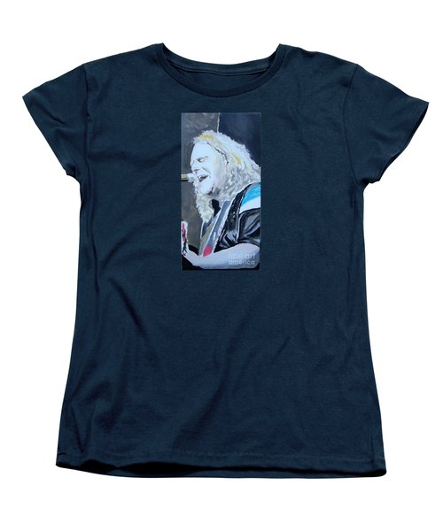 Women's T-Shirt (Standard Cut) featuring the painting Vote by Stuart Engel