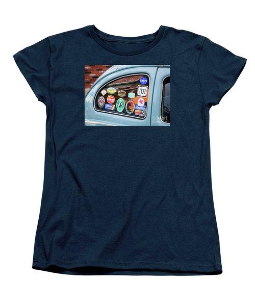 Women's T-Shirt (Standard Cut) featuring the photograph Vw Club by Chris Dutton