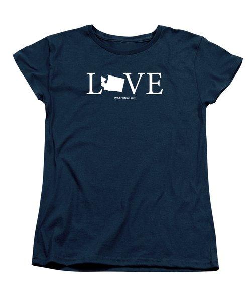Wa Love Women's T-Shirt (Standard Cut) by Nancy Ingersoll