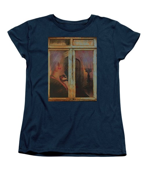 Women's T-Shirt (Standard Cut) featuring the photograph Waiting And Watching by Jeff Burgess