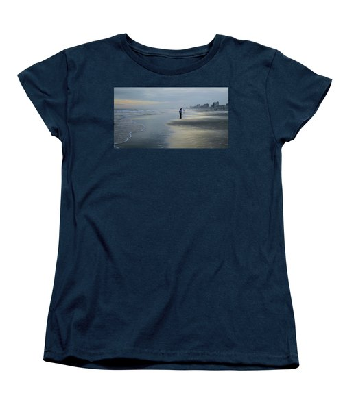 Women's T-Shirt (Standard Cut) featuring the photograph Waiting by Cathy Harper