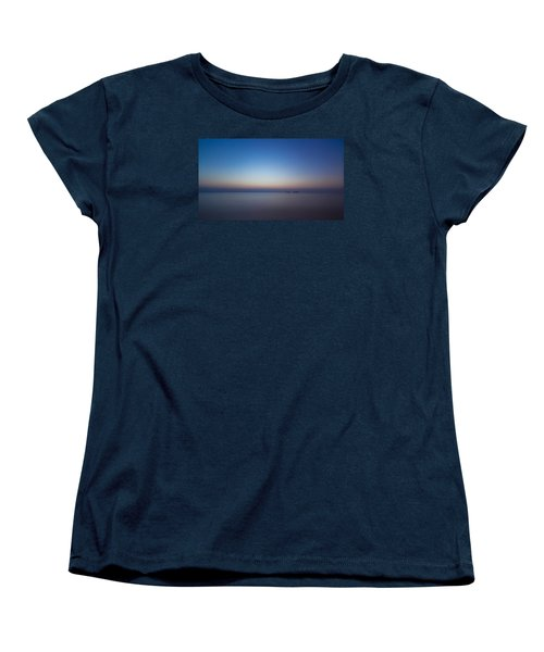 Waiting For A New Day Women's T-Shirt (Standard Cut) by Andreas Levi
