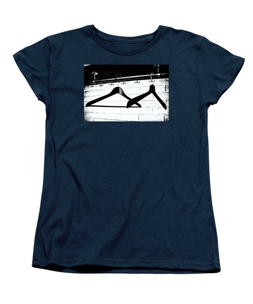 Women's T-Shirt (Standard Cut) featuring the photograph Waiting  by Karen Stahlros