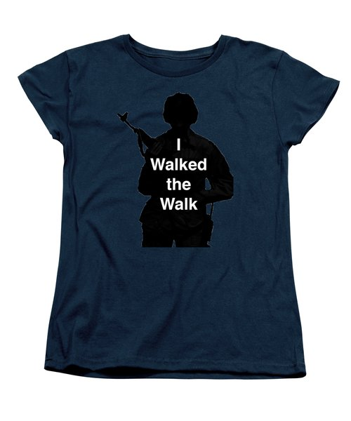 Walk The Walk Women's T-Shirt (Standard Cut) by Melany Sarafis