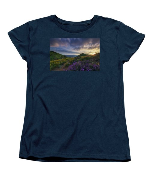 Walker Canyon Women's T-Shirt (Standard Cut) by Tassanee Angiolillo