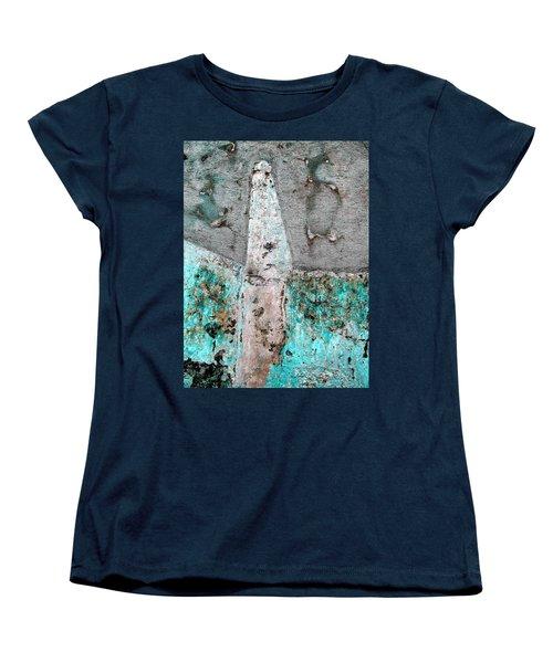 Wall Abstract 118 Women's T-Shirt (Standard Cut) by Maria Huntley