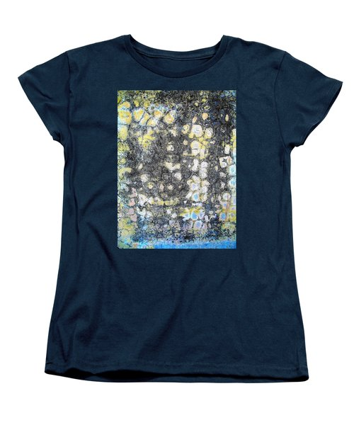 Women's T-Shirt (Standard Cut) featuring the photograph Wall Abstract 162 by Maria Huntley