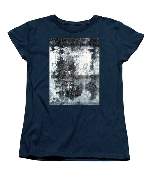 Women's T-Shirt (Standard Cut) featuring the photograph Wall Abstract 165 by Maria Huntley