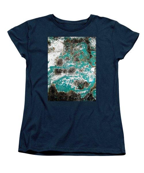 Wall Abstract 171 Women's T-Shirt (Standard Cut) by Maria Huntley