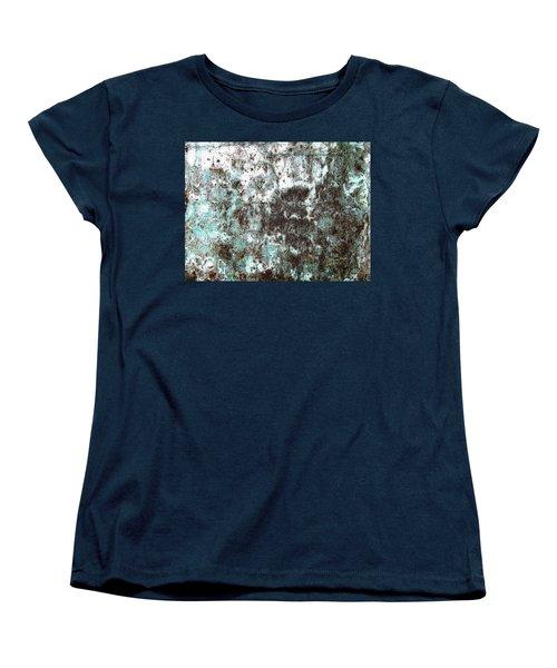 Wall Abstract 173 Women's T-Shirt (Standard Cut) by Maria Huntley