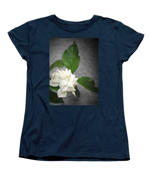 Women's T-Shirt (Standard Cut) featuring the photograph Wall Flower by Carolyn Marshall
