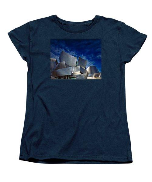 Walt Disney Concert Hall Women's T-Shirt (Standard Cut) by Anthony Dezenzio