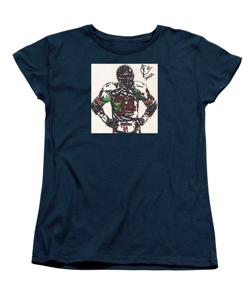 Walter Payton Women's T-Shirt (Standard Cut) by Jeremiah Colley